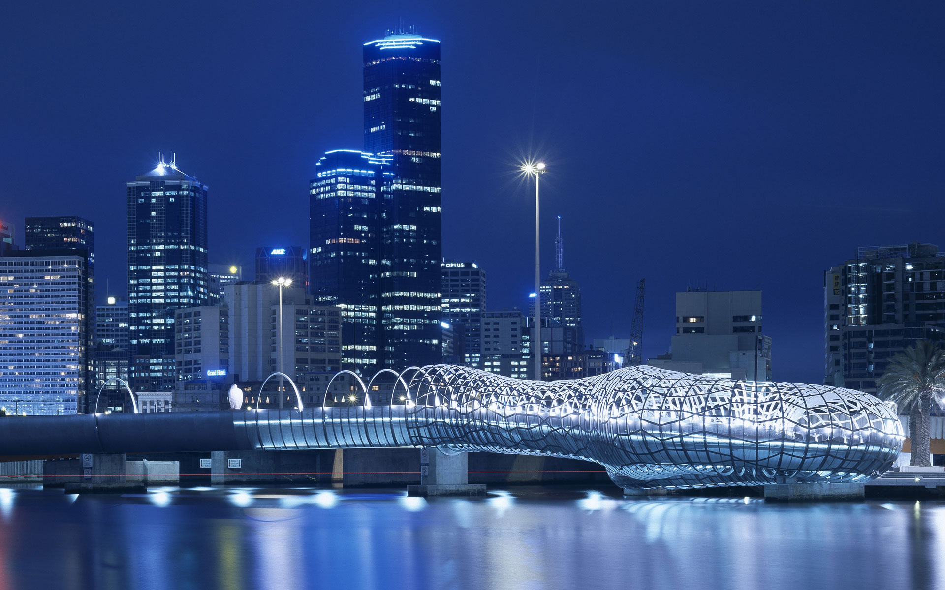 Webb Bridge, Melbourne, Australia