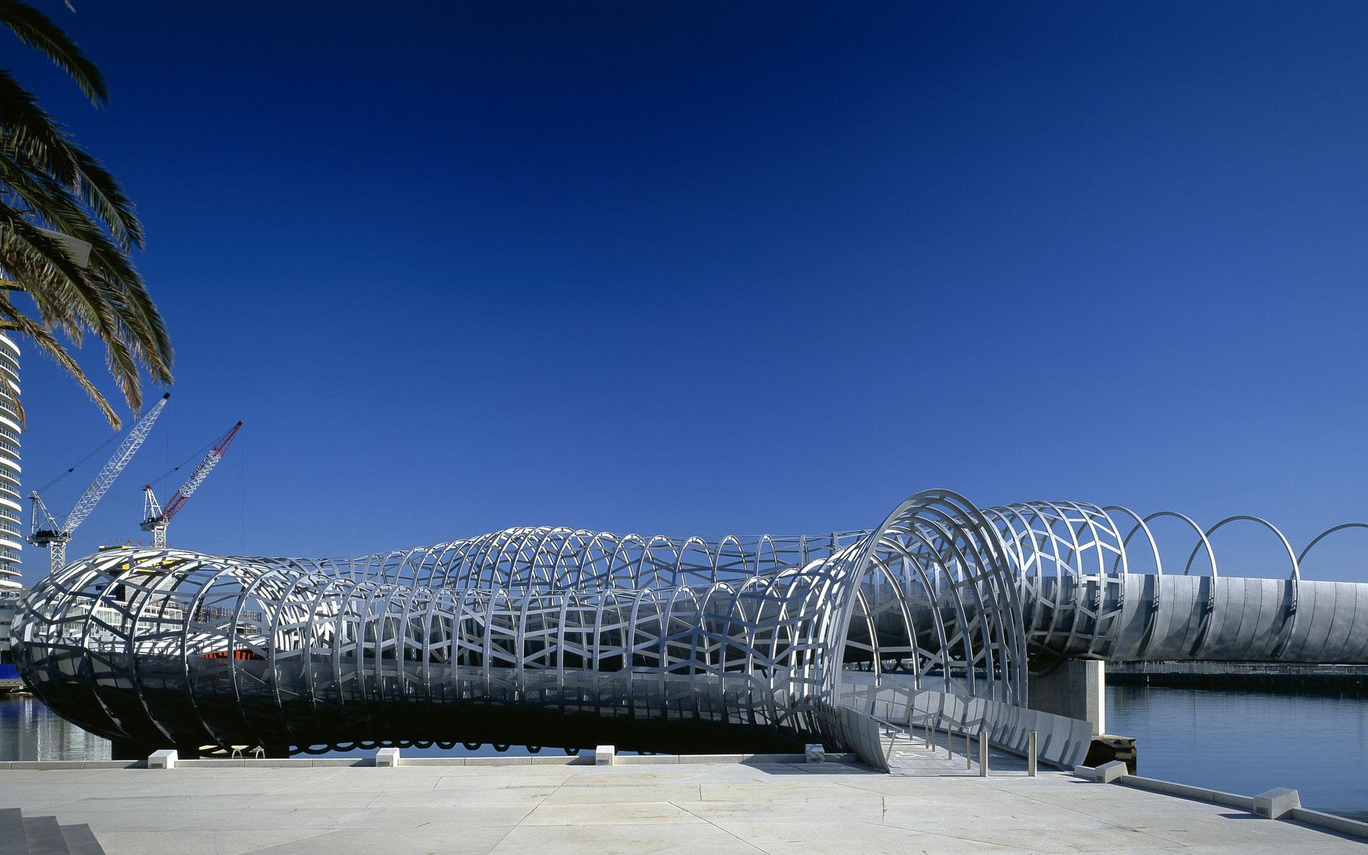 Webb Bridge, Melbourne, Australia