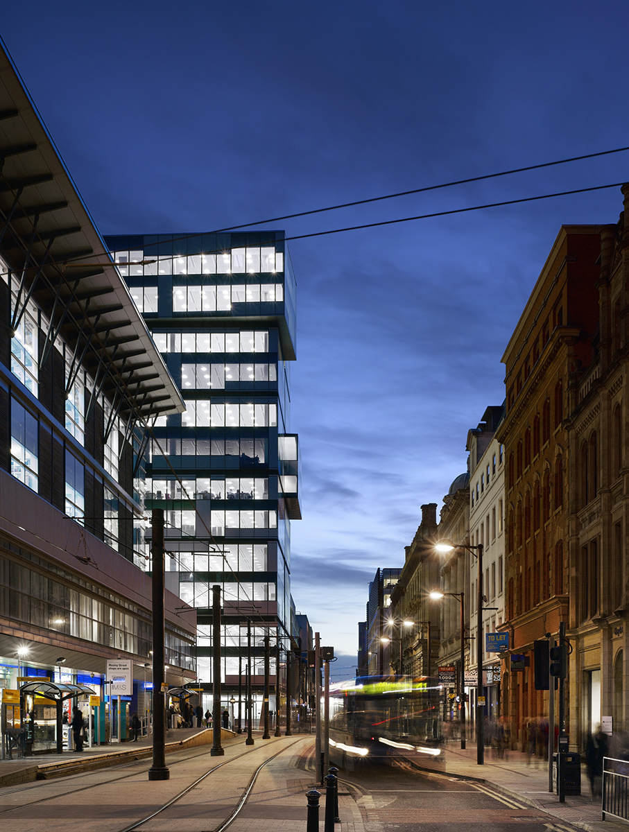 One New York Street Manchester United Kingdom Denton Corker Marshall Architecture Urban Design